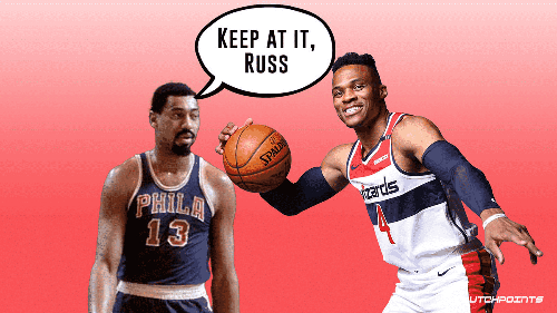 Wizards' Russell Westbrook on track to break Wilt Chamberlain's wild 53-year-old record