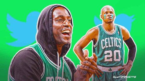 Best reactions as Celtics icon Kevin Garnett snubs Ray Allen in Hall of Fame speech