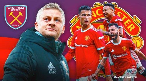 Ole Gunnar Solskjaer makes shocking addition to Manchester United line up against West Ham