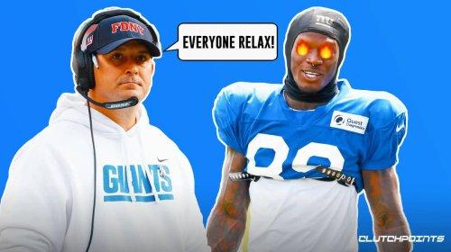 Giants rookie Kadarius Toney's rumored frustration draws response from Joe Judge