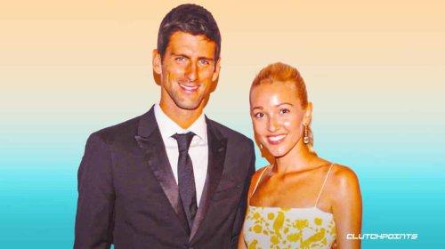 Novak Djokovic's wife: Jelena Ristic