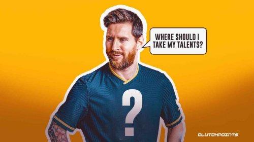 3 best destinations for Lionel Messi after abruptly leaving Barcelona