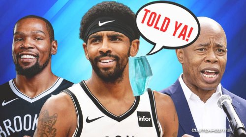 Nets news: Kyrie Irving's future in Brooklyn gets massive boost from (future) NYC mayor