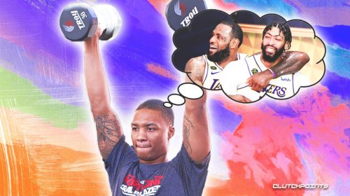 Blazers star Damian Lillard shuts down critic who invoked LeBron James, Anthony Davis