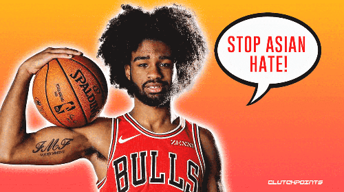 Bulls' Coby White reveals motivation behind his powerful message to stop Asian hate