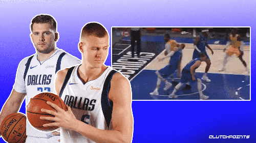 VIDEO: Mavs' Kristaps Porzingis exits game after scary ankle injury