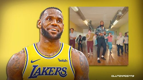 Lakers star LeBron James shall hereby be called 'Salsa King'