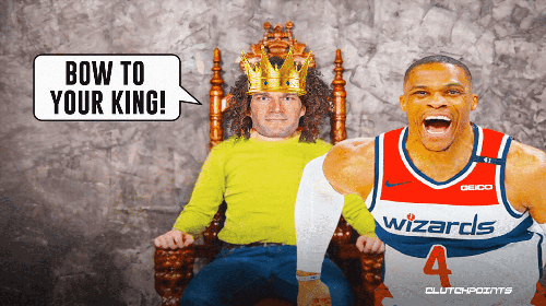 Wizards' Russell Westbrook hilariously clowned by new triple-double king Robin Lopez