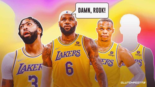 The biggest standout for the Lakers after 4 games … and it's not Russell Westbrook