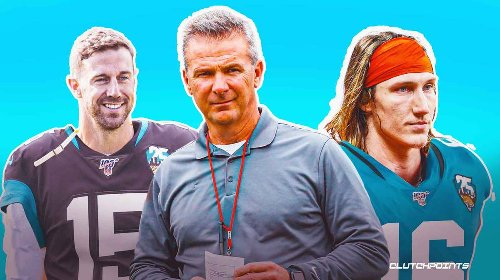 Urban Meyer on possibility of Alex Smith reunion with the Jaguars to be Trevor Lawrence's mentor