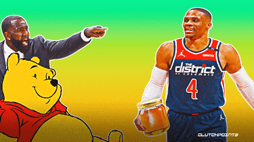 Wizards star Russell Westbrook's surprising Hall-of-Fame comp, per Kendrick Perkins