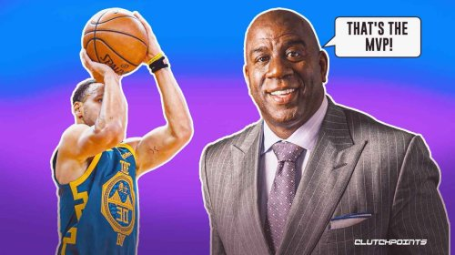 Magic Johnson explains why Warriors' Stephen Curry is the rightful MVP