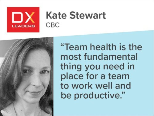 Kate Stewart: Build DX Teams Who Complement and Challenge Each Other