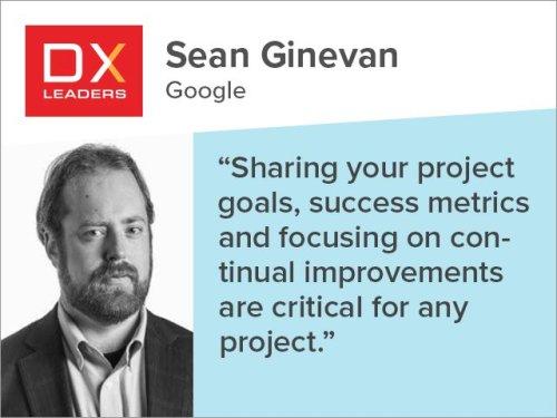 Sean Ginevan: Measure Improvements to Understand DCX Success