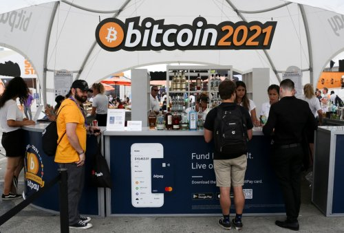 Thousands of bitcoin believers descended on Miami to party and preach the gospel of 'HODL'
