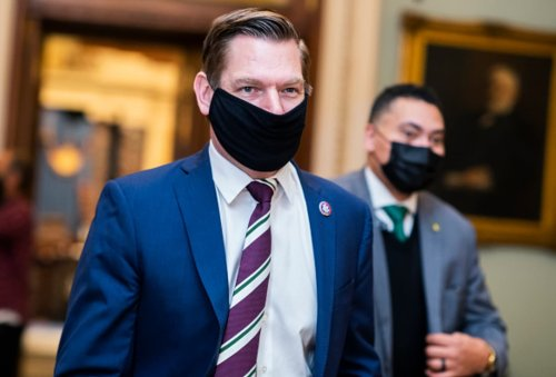 House impeachment manager Eric Swalwell sues Trump, Giuliani for allegedly inciting Capitol riot