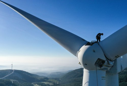 A 'quantum leap': Monster wind turbines are going to get even bigger