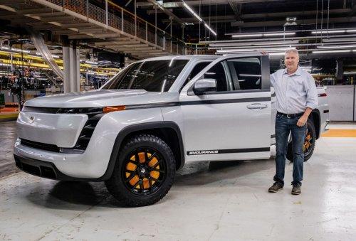 Electric truck maker Lordstown Motors shares slide after CEO and CFO resign