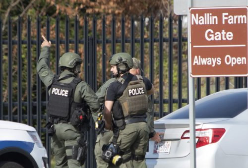 Navy corpsman suspected of shooting 2 victims is dead at Fort Detrick Maryland military lab site