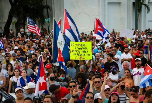 Biden says U.S. stands with Cuban protesters as communist regime cracks down on demonstrations