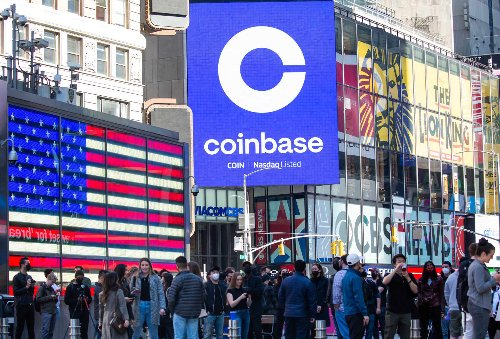 Coinbase indicated to open on Nasdaq at about $350 per share, up from $250 reference price