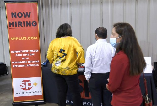 Jobless claims fall again as enhanced pandemic benefits fade away