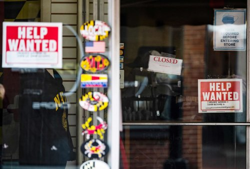 Long-term unemployment is falling for first time during pandemic