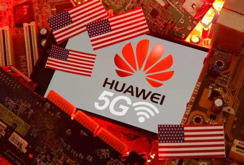 China's Huawei tries to blame global chip shortage on U.S. sanctions