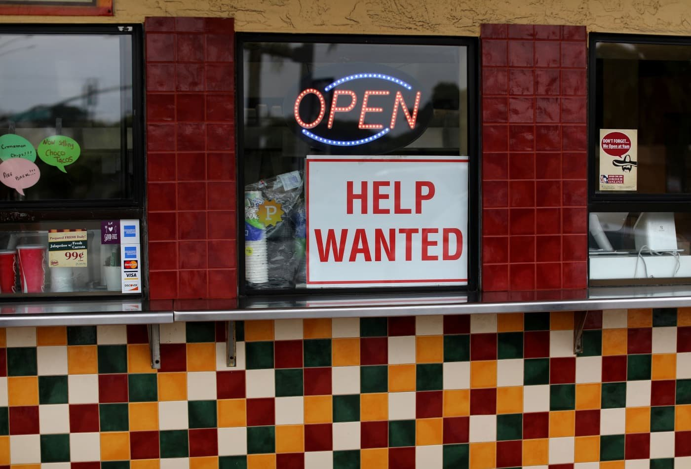 The U.S. job market is improving - cover