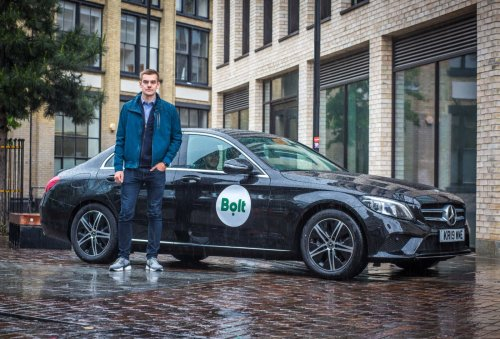 Uber rival Bolt launches car-sharing service in Europe