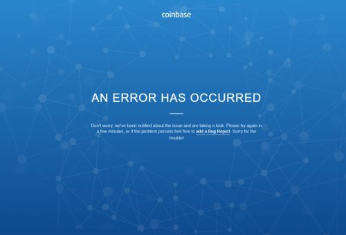 Coinbase back online following outage for some users amid bitcoin sell-off