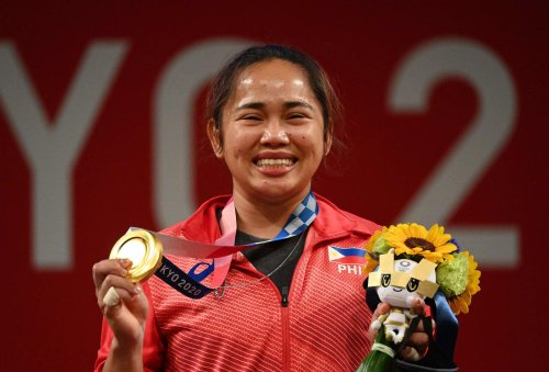 Philippines' first Olympic gold medalist was briefly accused of being part of 'plot' against Duterte