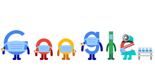 Get vaccinated, wear a mask: Today's Google doodle promotes COVID-19 appropriate behaviour