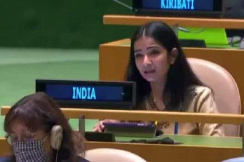 Sneha Dubey: Meet the 2012 batch IFS officer who tore into Pakistan, Imran Khan at UN