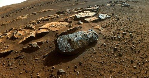 NASA: Mars rover rocks reveal 'potentially habitable sustained environment'