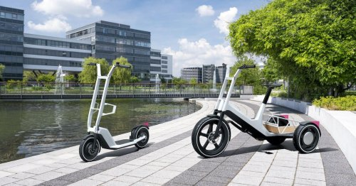 BMW debuts 2 very cool new electric scooter concepts that it won't build