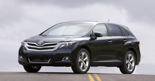 Toyota Venza recalled for malfunctioning airbags