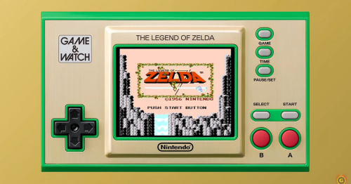 Of course Nintendo is making a Zelda Game & Watch