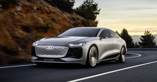 Audi A6 E-Tron will debut in production form in 2022