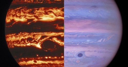 Jupiter looks like a mood ring in eye-popping new telescope views