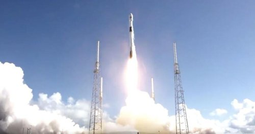 SpaceX launches South Korean military satellite atop Falcon 9 rocket
