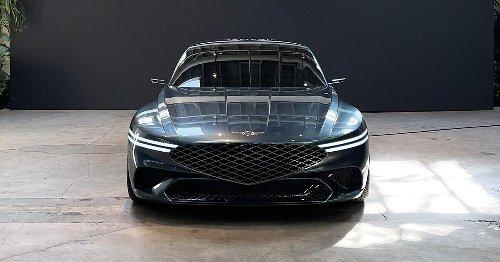 Genesis X concept is a gorgeous two-door EV that previews future designs