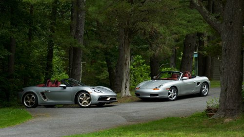 25 years of Porsche Boxster: An inspired drive with the inspiration