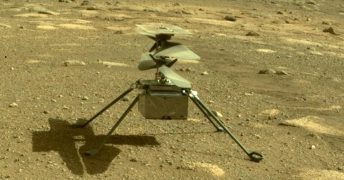 Hear the sounds of NASA's Mars Ingenuity helicopter whirring in flight