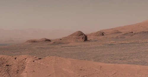 Epic NASA rover panorama puts Mars all up in your face