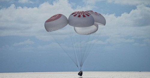 SpaceX Inspiration4 mission splashes down in first Atlantic Ocean landing