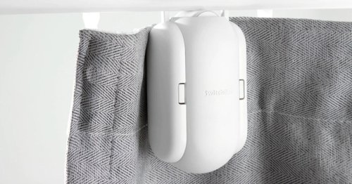 Add a remote control to your curtains for $79