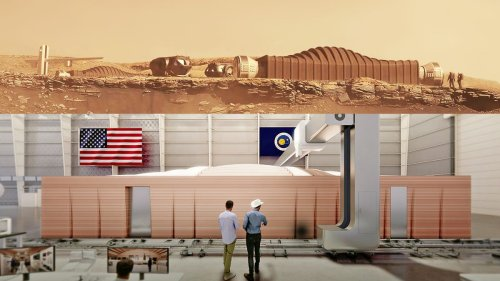 Four people will spend a year living in this 3D-printed Mars habitat - Video