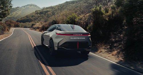 Lexus LF-Z EV concept blends performance and premium