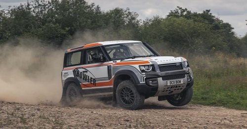 Bowler launches Land Rover Defender rally car for new Challenge race series